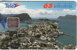 NORWAY - Alesund(008G), Chip SC4, CN : 00209, Tirage 6000, 01/93, Used - Norway