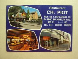 29590 - BANNEUX N-D - RESTAURANT CH. PIOT - 3 ZICHTEN  - ZIE 2 FOTO'S - Sprimont