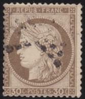 France    .    Yvert   .     56          .     O     .   Oblitéré - 1871-1875 Ceres