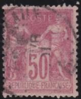 France    .    Yvert   .     104          .     O     .   Oblitéré - 1898-1900 Sage (Tipo III)