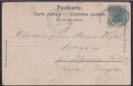 Schaan, Use Of Austria In Liechtenstein, On Picture Postcard, Poorly Legible, Mailed 1905 - Briefe U. Dokumente