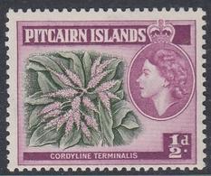Pitcairn Islands 1957 - Definitive Stamp: Palm Lily - Mi 20 ** MNH - Pitcairn Islands