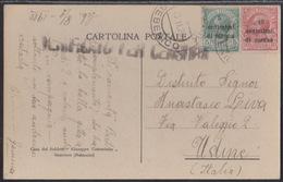 Sebenico/Šibenik, Picture Postcard Of Skradin, Franked 15 Cent., Mailed In 1920 - 8. Occupazione 1a Guerra