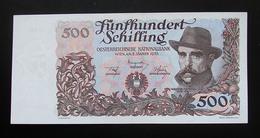 Austria 500 Schilling 1953 About UNC - Autriche