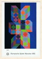 Victor Vasarely: Olympia Poster. Bruckmanns Bildkarte Nr. 598. - Illustrateurs & Photographes