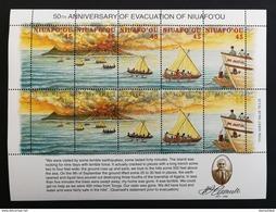 Niuafo'ou 1996** Klb.308-17. Evacuation Of Niuafo'ou [19;150] - Histoire