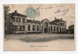 - CPA STAINS (93) - Gare De Pierrefitte 1905 - - Stains