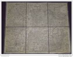 Königreich Preussen - Kreis Minden Stolzenau Hannover Neustadt Springe 1914 30cm X 37cm Auf Leinen - Landkarten