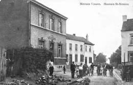 """Houtain St-Siméon - Métrain Vinave (top Animation, Café Billard """"les Vrais Amis"""", Travaux, 1914) - Oupeye"""