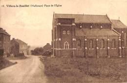 Villers-le-Bouillet (Halbosart) - Place De L'Eglise (salle De La Renomée, 1943) - Villers-le-Bouillet