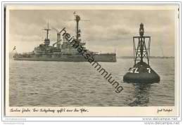 Kieler Förde - Kitzeberg - Foto-AK 30er Jahre - Warships