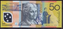 Australia 50 Dollars 2009 UNC P- 60g - Emisiones Gubernamentales Decimales 1966-...