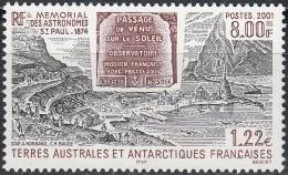 TAAF 2001 Yvert 297 Neuf ** Cote (2015) 4.05 Euro Saint-Paul Mémorial Des Astronomes - Terres Australes Et Antarctiques Françaises (TAAF)