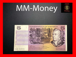 AUSTRALIA 5 $ 1972 P. 39 C Commonwealth VF - Emissions Gouvernementales Décimales 1966-...
