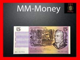 AUSTRALIA 5 $  1976 P. 44 B  VF \ XF - 1974-94 Australia Reserve Bank