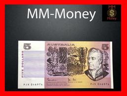 AUSTRALIA 5 $ 1991 P. 44 G  VF \ XF - 1974-94 Australia Reserve Bank (paper Notes)