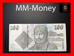AUSTRALIA 100 $ 1992 P. 48 D - Decimal Government Issues 1966-...