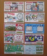 Lotto Scarta E Vinci Rosso E Nero Roulette Bingo Battagli Navale Goal Stramba E Vinci Asso Piglia Tutto Spacca Minturno - Biglietti Della Lotteria