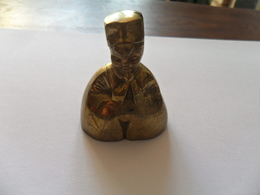ANCIENNE CLOCHETTE CUIVRE JAUNE - Cloches