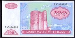 Azerbaijan 100 Manat ND (1993) UNC P- 18b - Azerbaïdjan