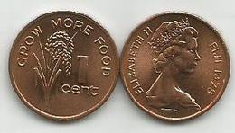 Fiji 1 Cent 1978. KM#39 FAO High Grade - Fidji