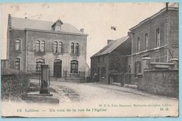 Lobbes : Un Coin De La Rue De L'Eglise - Lobbes