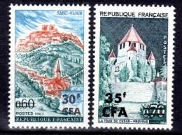 REUNION  (CFA) - N°360/1  ** (1964) - Neufs