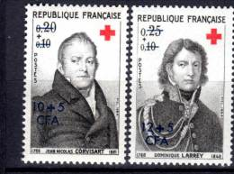 REUNION  (CFA) - N°362/3  ** (1964)  Croix Rouge - Neufs