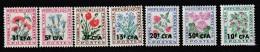 REUNION  - TAXE  N° 48/54  ** (1964-71) - Réunion (1852-1975)