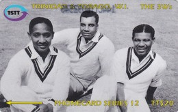 Trinidad & Tobago, 144CTTB, TT$20, Sir Frank Worell, Cricket, Sport, 2 Scans. - Trinidad & Tobago