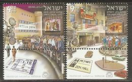 Israel 2010 Mi# 2176-2177 ** MNH - With Tabs - Cinema - Israel