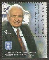 Israel 2011 Mi# 2207 ** MNH - With Tab - Ephraim Katzir - Israel