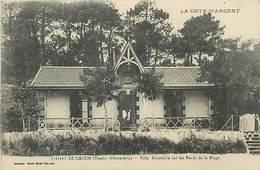D-18-1764 : LE CANON. VILLA ESCARBILLE. - Non Classés