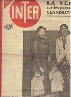 INTER N° 119 BAO DAI ET SA FAMILLE ; GUERRE D INDOCHINE --PARACHUTAGE CLANDESTIIN- La Verite-- - Journaux - Quotidiens