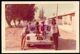 70s ORIGINAL AMATEUR PHOTO FOTO TOYOTA COROLA MOZAMBIQUE MOÇAMBIQUE AFRICA AFRIQUE Cp95 - Africa