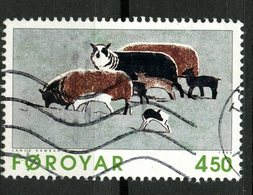 Faroe Islands 1996 400o Sheep  Issue #307 - Faroe Islands