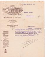 76-L'Abeille Cauchoise Imprimerie Commerciale....Yvetot (Seine-Maritime)....1932 - Stamperia & Cartoleria