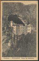 °°° 11243 - SLOVENIA - PREDJAMA - HOHLENSCHLOSS - LUEGG BEI ADELSBERG - 1922 With Stamps °°° - Slovenia
