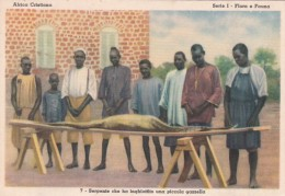 Missions Africa Cristiana Serpente che ha inghiottito una piccol