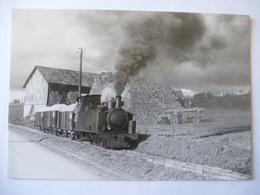 AISNE (02) Sucrerie D'OEUILLY-MAIZY Locomotive Vapeur COUILLET 030T N°2  En 1961 Voie étroite 60 Cm - Voir Les 2 Scans - Trains