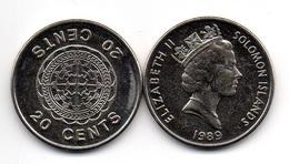 Solomon Islands - 20 Cents 1989 UNC- Lemberg-Zp - Salomon