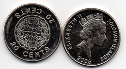 Solomon Islands - 20 Cents 2005 UNC- Lemberg-Zp - Salomon