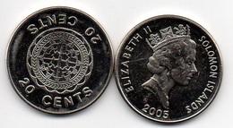 Solomon Islands - 20 Cents 2005 UNC- Lemberg-Zp - Salomonen