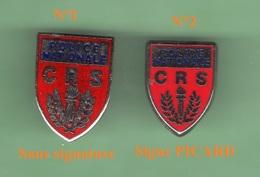 POLICE NATIONALE *** CRS *** Pin's N°1 En Vente - Uniquement *** 0069 - Polizia