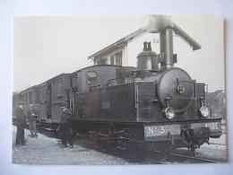 CUNFIN (10) CFD De L'AUBE Locomotive Vapeur 030 T N° 3 - Ligne Des RICEYS à CUNFIN Par POLISOT - 1930 - Voir Les 2 Scans - Trains