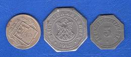 All  3  Jetons - Monetary/Of Necessity