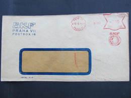 BRIEF Praha 21 SKF 1941 Frankotype Freistempel Postfreistempel// N7356 - Böhmen Und Mähren