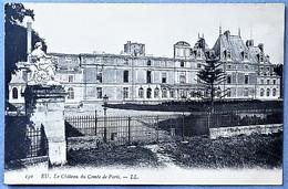 76A2 - EU - Lot 4 Cpa: Château - Comte D'Eu - Comte De Paris - Eu