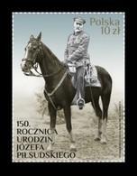Poland 2017 Mih. 4967 First Marshal Of Poland Jozef Pilsudski. Horse MNH ** - 1944-.... Republik