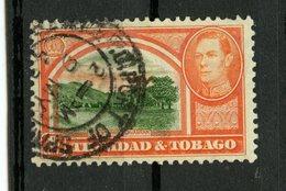 Trinidad And Tobago 1938  8p Queens Park Issue #56 - Trinidad & Tobago (1962-...)
